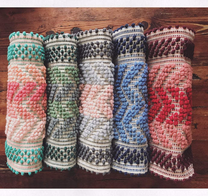 Hand-Woven Clutch Bag - Various Colours
