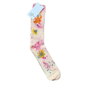 Flower Power Botanical Slouch Socks