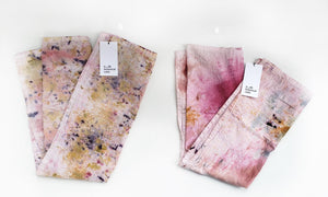 Botanically Dyed Ombre Flour Sack Tea Towel