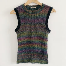 Vintage Wool Hand Knit Tank Top