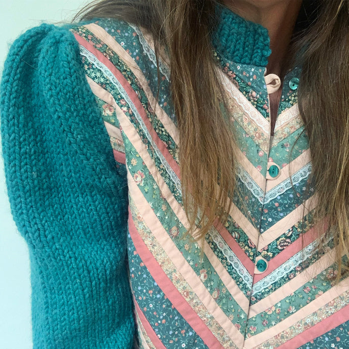 Quilted Cardigan