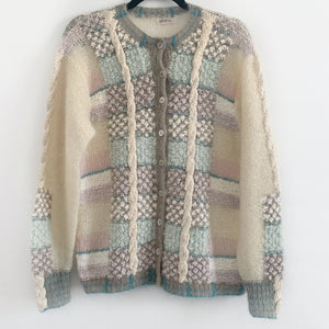 Pastel Light Knit Cardigan