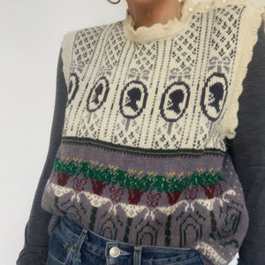Vintage Sleeveless Sweater