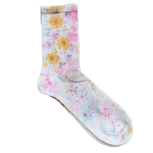 Flower Power Botanical Ankle Socks