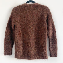 Vintage Mohair Hand Knit Cardigan
