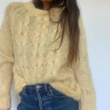 Vintage Hand Knit Mohair Jumper