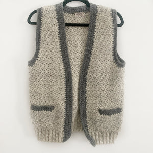 Hand Knit Gilet