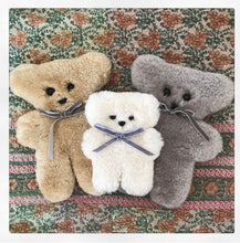 Little Sheepskin Cuddle Bear - Buttermilk