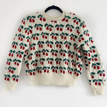 Vintage Cherry Hand Knit