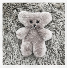 Sheepskin Cuddle Bear - Grey