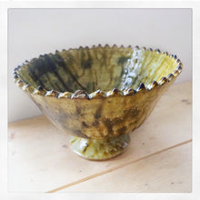 Tamegroute Glazed Chalice Bowl
