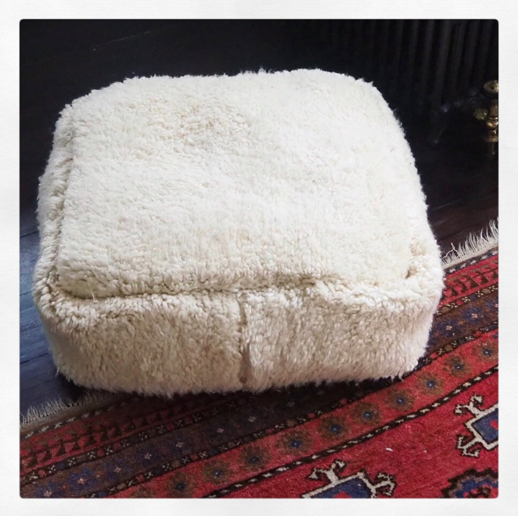Wool Floor Cushion