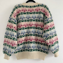 Vintage Chunky Hand Knit Cardigan