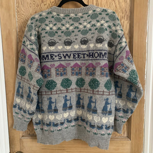 Vintage Home Sweet Home Knit