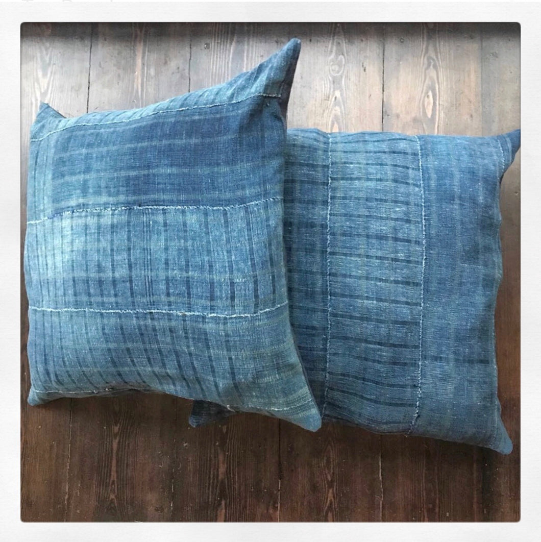Vintage Mud Cloth Cushion Cover