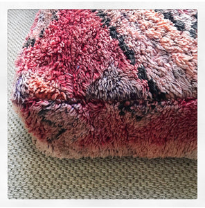 Vintage Berber Floor Cushion