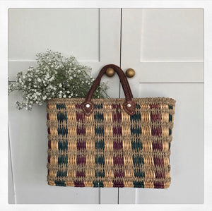 Rectangular Check Basket