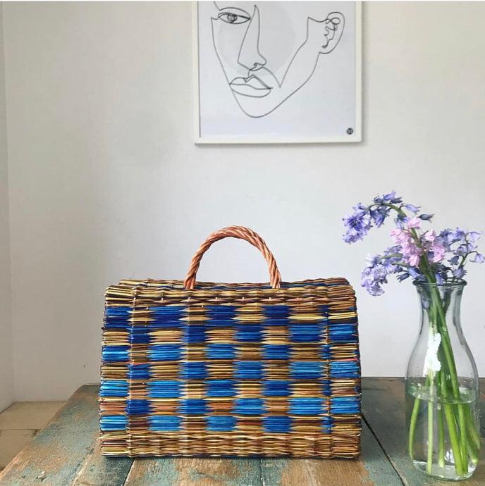 Portuguese Basket Bag - The Blue