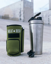 HyperFrost™ Insulated Shaker Bottle + Sleeve (24oz)