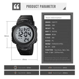 Mens Digital Sports Watch LED Screen Military Watches - CakCity Watches