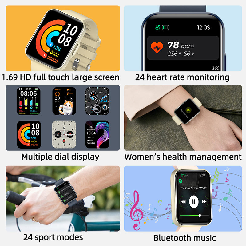 Men's watch - CakCity
