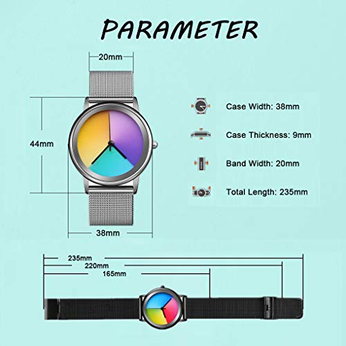 Women's Wrist Watch Rainbow Fashion Watch - CakCity Watches