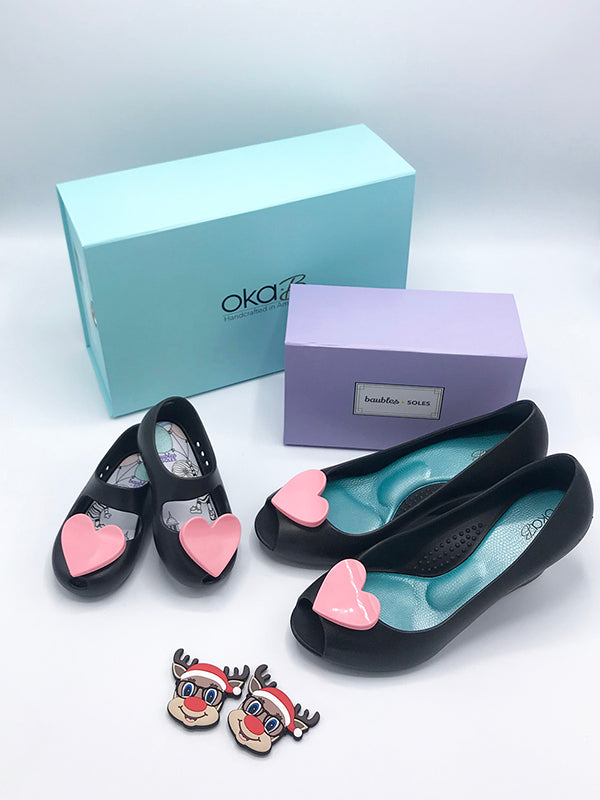 Mommy and Me Gift Set - Wedges in Licorice