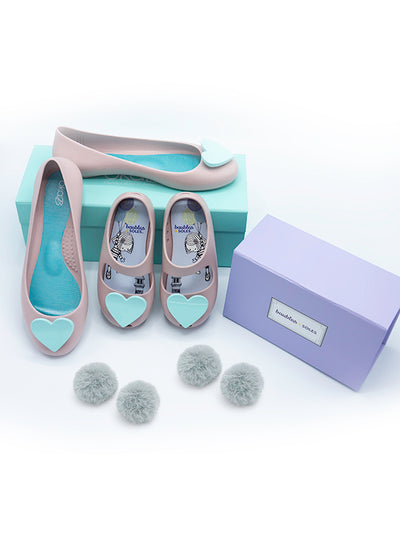 Made for Each Other Mommy and Me Gift Set in Ballet Slipper