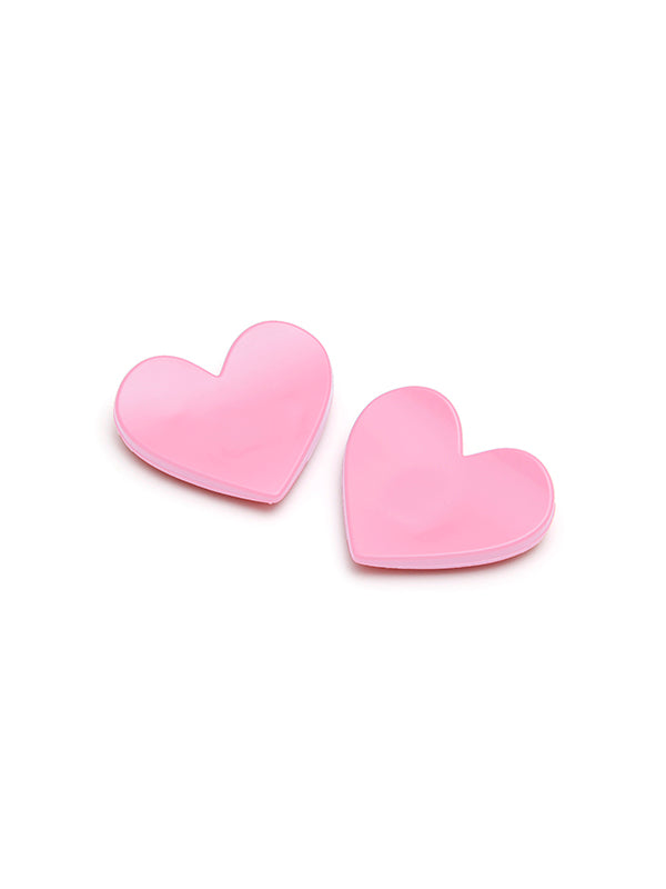 Baby Pink Heart Bauble