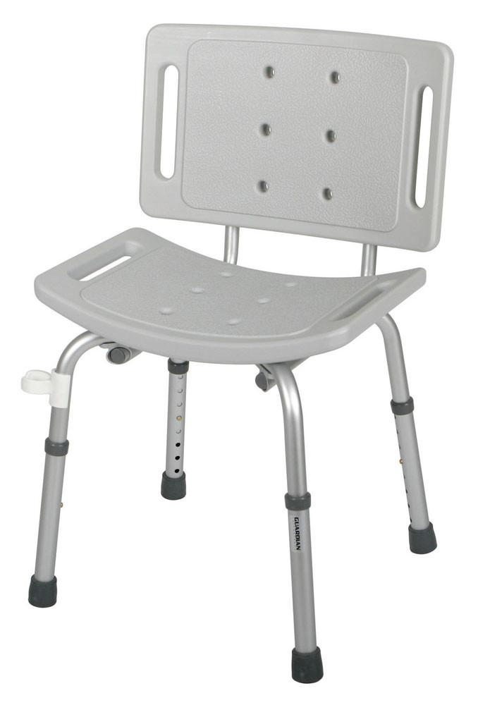 Easy Care Shower Chair w/ Back - Affinity Home Medical