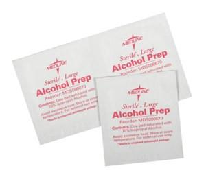 Sterile Alcohol Prep Pads (Large)