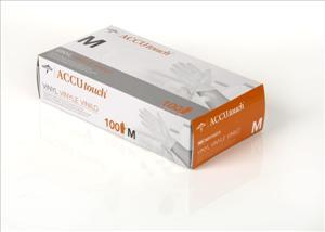 Accutouch Powder-Free, Latex-Free, Synthetic Exam Gloves
