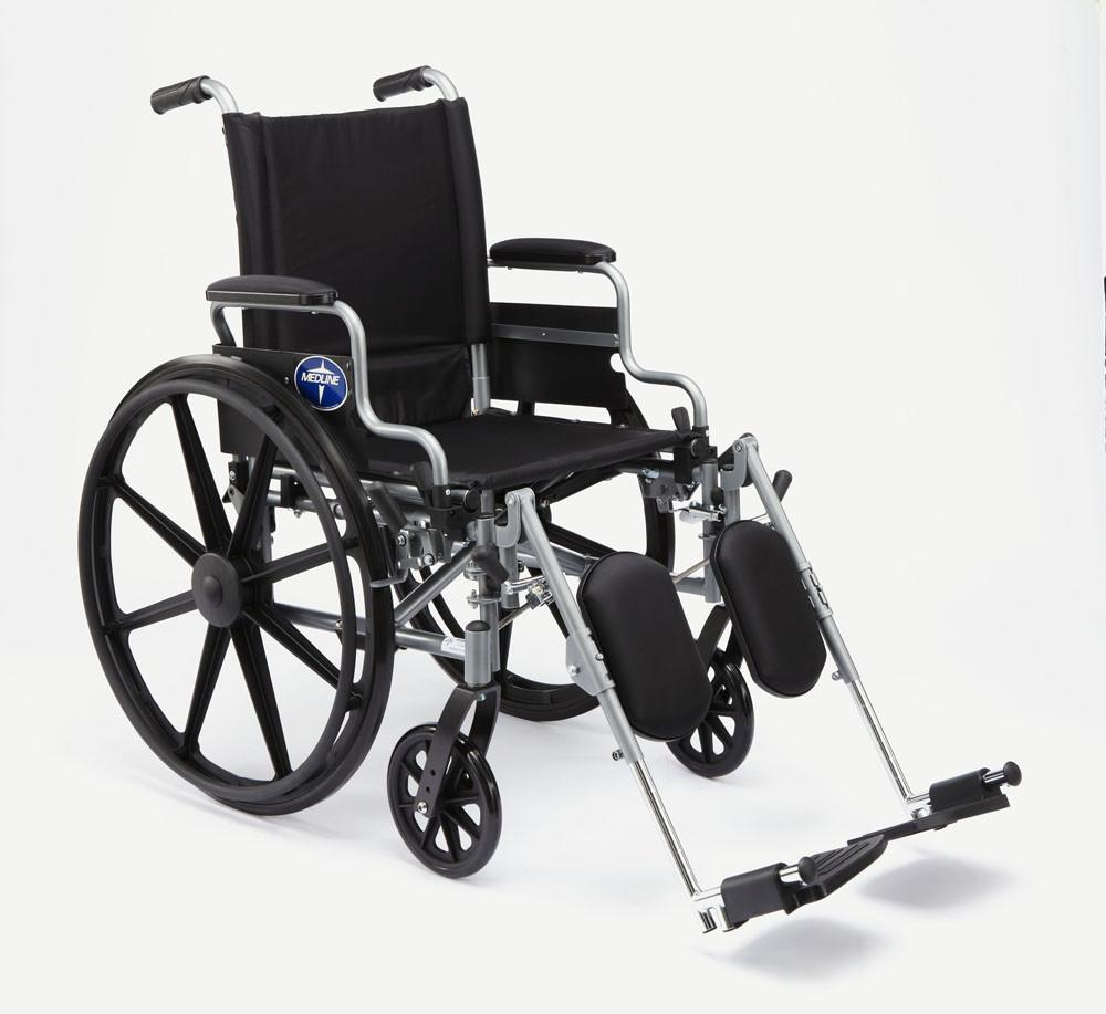 "K4 Basic Lightweight Wheelchair, 16"" Desk Arm"