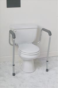 Foldable Toilet Safety Rails (1 Pair)