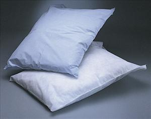 Pillowcase, Tissue/Poly, 21x30, Blue