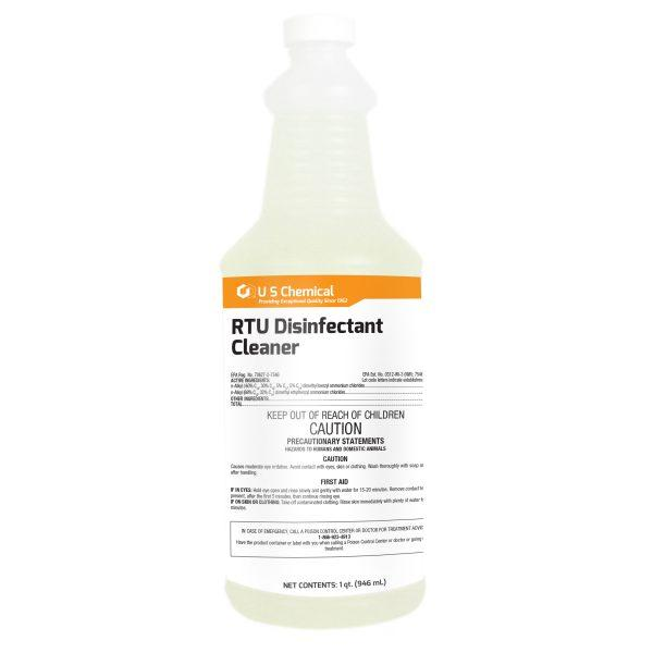 RTU Disinfectant Spray, 1 Quart - Medical Grade