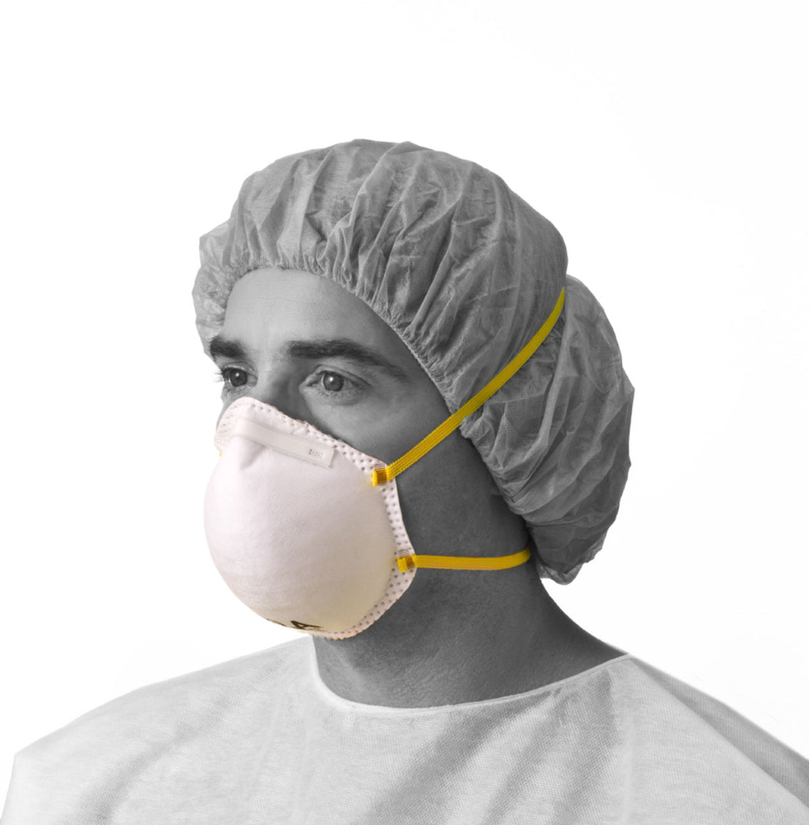 N95 Cone-Style Particulate Respirator Mask - Medline
