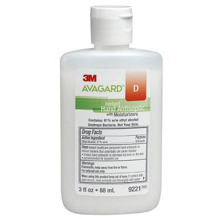 Avagard D Instant Hand Antiseptic by 3M Healthcare - 3oz