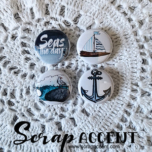 "Badge 1"" - Seas the Day"