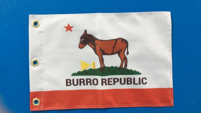 Burro Republic Flag