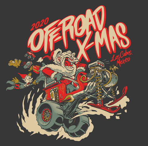 2020 Offroad Xmas T-Shirt ( All profit for the kids )