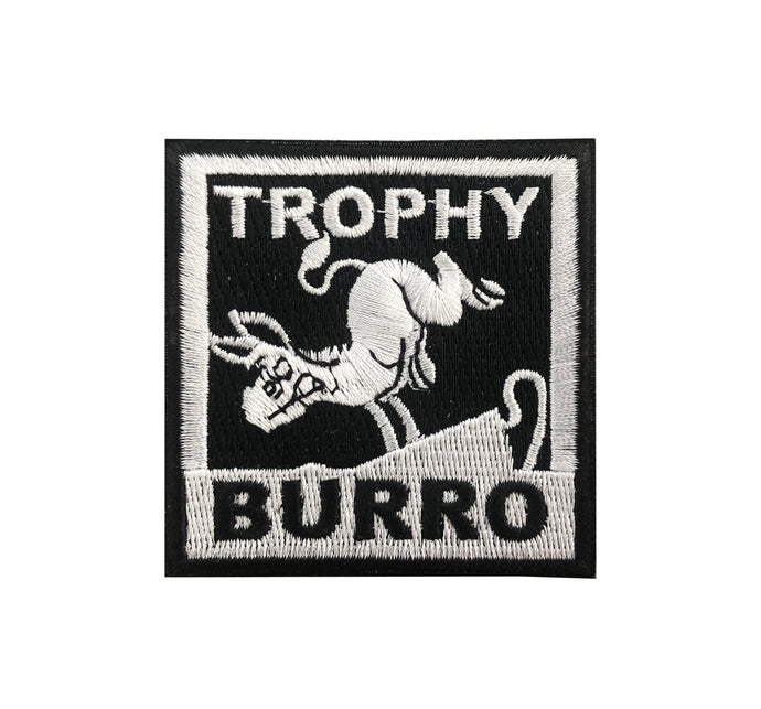 Kicking Burro Stick on Patch
