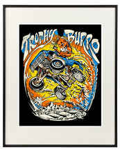 "F100 Burro Signed and Numbered 11""x14"" Art Print"