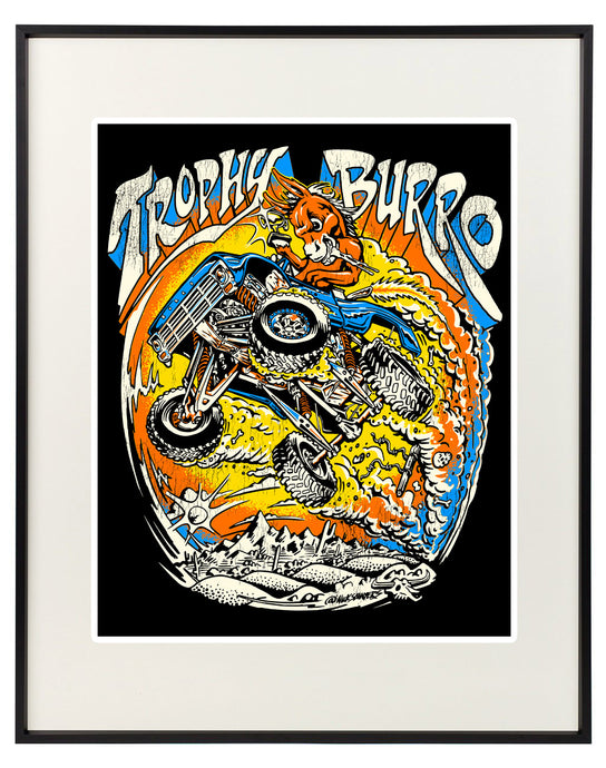 F100 Burro Signed and Numbered 11
