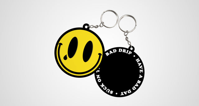 BAD smiLey keYcHaiN
