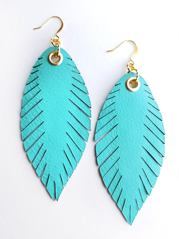 Signature Feather Earrings