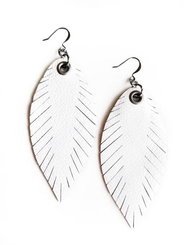 Signature Feathers - Bright White