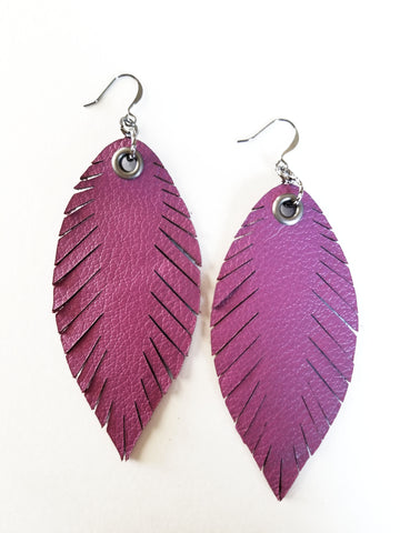 Signature Feathers - Orchid - K. Johnson Jewelry LLC