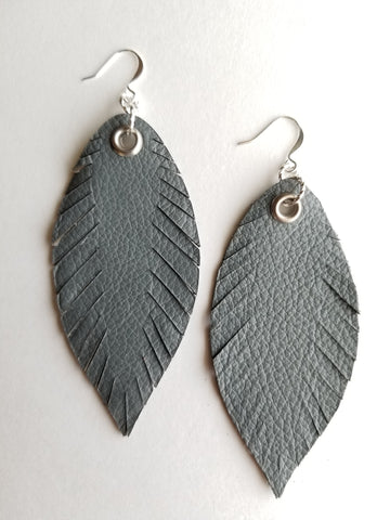 Signature Feathers - Smoke - K. Johnson Jewelry LLC
