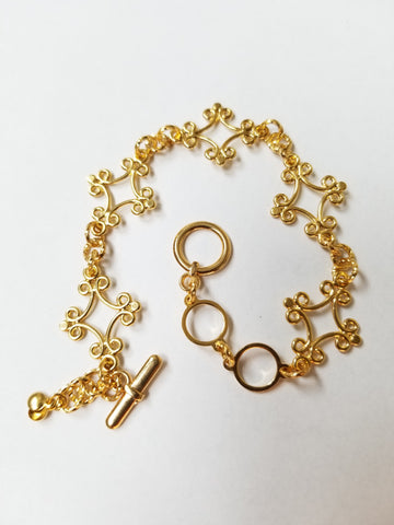 Percee Bracelet - Gold - K. Johnson Jewelry LLC